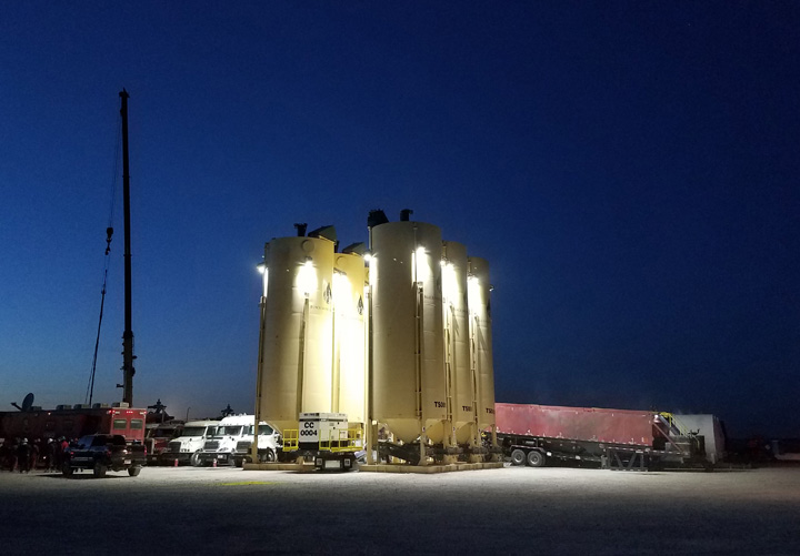 Frac Sand Logistics Second to None in the Permian Basin