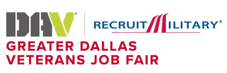 DAV Recruit Military Greater Dallas Job Fair