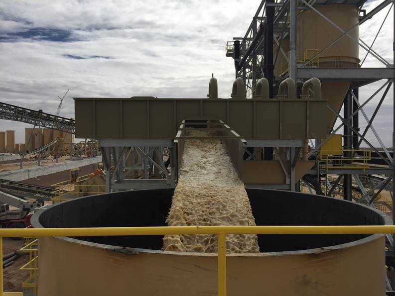 Frac Sand Water Recycling
