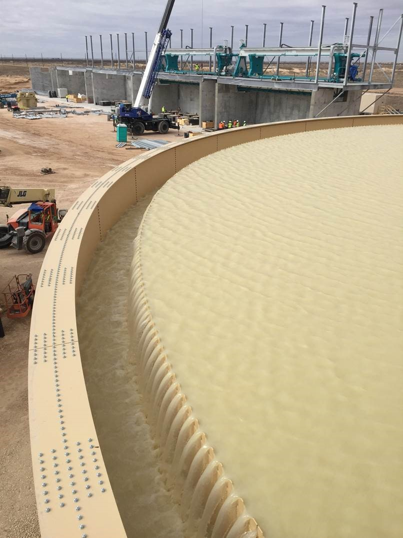 Water Recycling During Frac Sand Mining and Processing