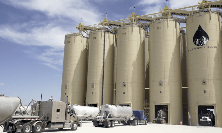 Frac Sand Silo Lane Assignments